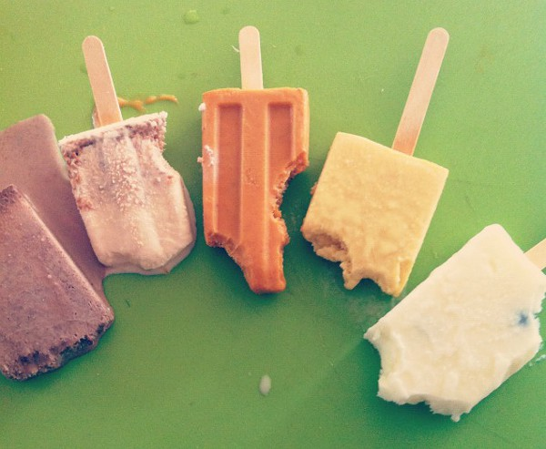 Taste-testing Paletas